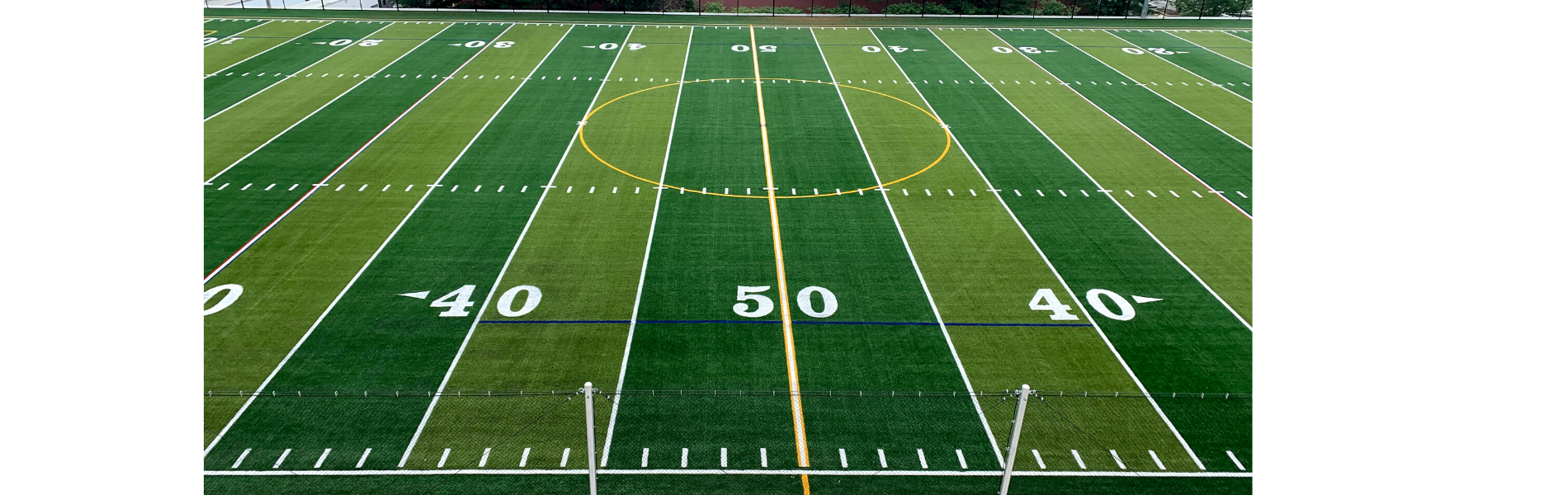 LMS Football field 50 yard Line